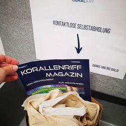 🎉 Ab sofort gibt's bei jeder Bestellung das neue Korallenriff-Magazin kostenlos dazu. Tolle Initiative von @baur.robert - ganz nach dem Motto: von Aquarianern für Aquarianer! 👏 . . . #reefers4reefers #coralreeftank #reefpro #reefersdaily #reefpackworldwide #korallenriffmagazin...